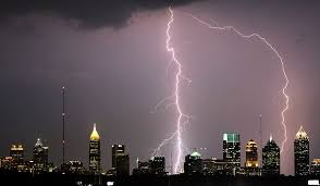 lightning,cloud , charged, natural phenomenon,,
