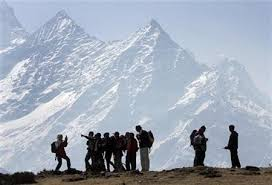 Mount Everest; clean up the mess mission