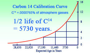 radio carbon dating, age, organic