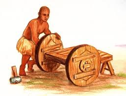 Invention of wheels