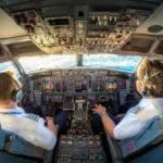 Devices used by pilots to control an airplane.