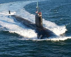 submarine, under water, air