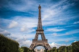 eiffel tower, expansion, metal, summer