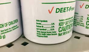 DEET,insect repellant, cream