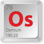 Osmium: The densest stable element on earth