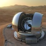 Giant telescopes under erection; Universe to reveal more